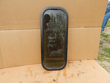 "RV / Trailer Window, 12""X30""X1 1/2"", Fixed Window, With Trim Rings, Take Out #91"
