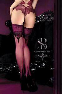 Ballerina 524 Sheer Stockings Thigh High Hold Ups