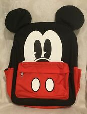 LOUNGEFLY DISNEY MICKY MOUSE  PRINT  BACKPACK NEW UK SELLER