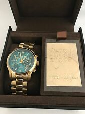 NWT Michael Kors Limited Edition Blue Stop The Hunger Watch MK5815