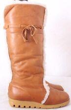 Bastien 7115 1006 Vtg Canada Husky Boho Sherpa Lined Winter Boots Women's US 6M