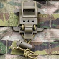 Molle Webbing Buckle Clip Clasp Tactical Flashlight Clip Backpacking J0S7