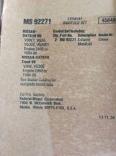 Exhaust Manifold Gasket Set Fel-Pro fits 87-95 Nissan Pathfinder 3.0L-V6