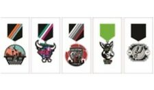 NEW - 2017 FIESTA MEDALS -  Spurs / Coyote / Stars / Rampage / SAFC. SOLD OUT.