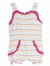 Kickee Pants Sweetie Pie Romper Beach Stripe baby infant girl size 3 6 month