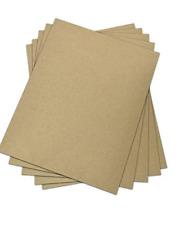 Chipboard - 8.5 x 5.5.  Cardboard Medium Weight 50 sheets   FREE SHIPPING