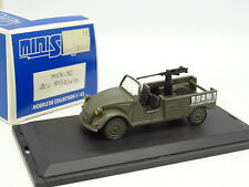 Ministyle Résine 1/43 - Citroen 2 PIck Up Militaire GHAN 1 Mitrailleuse MG151