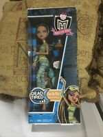 Monster High Dead Tired Cleo De Nile Doll, In Box, Condition. New.