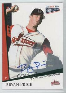 2009 TRISTAR PROjections Green /50 Bryan Price #109 Auto