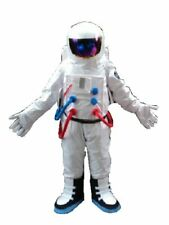Space Suit Mascot Costume Cosplay Party Game Dress Outfit  Halloween Adult