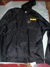 Pgh Steelers, Team Issued, Signed Starter Sideline Coat by Carnell Lake, XXL