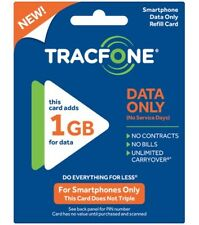 TRACFONE - Android Data Plan Card 1GB Data Internet