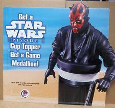 Taco Bell Star Wars Episode I Phantom Menace Advertisement Display Darth Maul