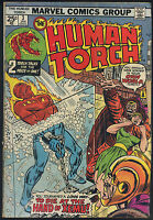 Human Torch #4 Paste Pot Pete Very Good / Fine Marvel 1975 Series CBX12A