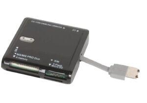 *NEW* Sunpak 72-in-1 High-Speed Card Reader Built In USB 2.0 Self Storage Plug