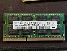 Samsung 4GB 2Rx8 DDR3 PC3 10600S 1333 Mhz DIMM M471B5273CH0-CH9