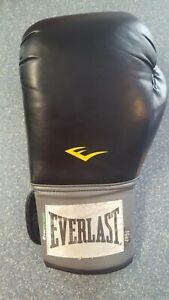 Everlast Everfresh training boxing glove black 16 oz Left Only