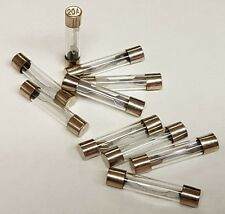 AGC20 20 AMP GLASS TYPE FUSES 10Pcs