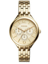 NEW Fossil Suitor Multifunction Gold-Tone Stainless Steel Watch BQ3128