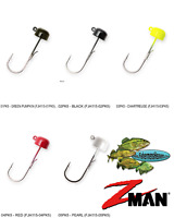 Z-MAN Jigheads Finesse Shroomz 1/15oz (FJH115) NED Rig Pick Any 5 Colors