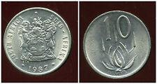 AFRIQUE DU SUD 10 cent 1987