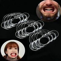 15pc (5L+5M+5S) Dental Mouth Opener Cheek Retractor Medical Lip Adult Kid Game