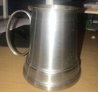 Renaissence Pewter Tankard - Made In Malaysia - 97% Tin - Nice Condition