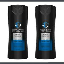 (2 Pack) Axe Body Wash Anarchy 16Oz - 32Oz total