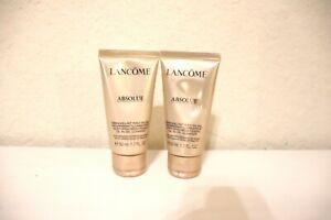 2X Lancome Absolue Nurturing Brightening Oil-In-Gel Cleanser w/Rose Extract 50ml