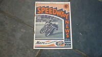OLD MOTOR RACING MOTORCYCLE MAGAZINE, SPEEDWAY NEWS 1948 JULY 15
