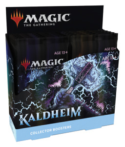 MTG Magic the Gathering Kaldheim Collector Booster Box Factory Sealed