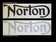 ClassIc cafe racer 2 x NORTON style Tank decal sticker  Various colours