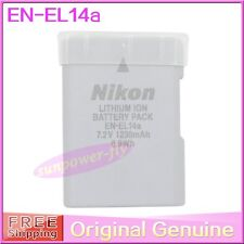 Genuine Original Nikon EN-EL14A Battery For DF D5300 D3300 D5200 MH-24 EN-EL14