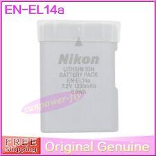 Genuine Original Nikon EN-EL14A Battery For DF D5300 D3300 D5200 MH-24 EN-EL14