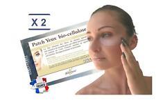 déliktess® - 2 x 2 Patchs pour les yeux Bio-cellulose - anti-poches et cernes