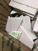 15#  Vintage Pink  bathroom tile 1950s Era Chipped Broken Pieces Craft Mosiac