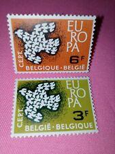 STAMPS - TIMBRE - POSTZEGELS - BELGIQUE - BELGIE 1961 NR 1193/94 **  (ref 2347)