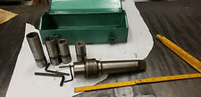 #5MT Magic Chuck w/4 Collets. Look Photos Determine Sizes. Metal Box Included