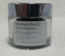Meaningful Beauty Cindy Crawford Wrinkle Smoothing 60 Capsules Sealed/New/Fresh