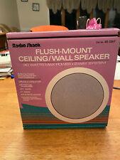 NOS Radio Shack Flush-Mount Ceiling/Wall 2-way Speaker 30 Watts Power (40-1367)