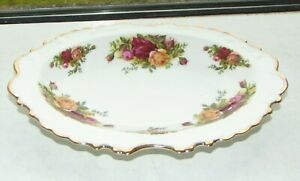 Royal Albert  Bone China Old Country Roses Frilled Shallow Bowl 23cm 1st Quality
