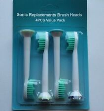 4Pcs Electric Toothbrush Heads for Philips Sonicare Flexcare ProResult HX6014