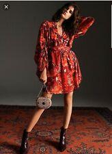 BNWT TOPSHOP  IDOL Floral Tassel Mini Dress UK SIZE 12 SOLD OUT!!!