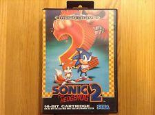 SONIC 2 Complete. SEGA Mega Drive (Atari,Nintendo) VGC/TBE !