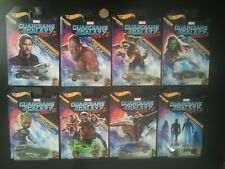 HOT WHEELS Marvel GUARDIANS OF THE GALAXY complete full set of 8 (hotwheels)