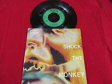 PETER GABRIEL SHOCK THE MONKEY/SOFT DOG (instramental) 1982 CHARISMA NM