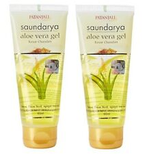 Patanjali Saundarya Alovera Gel, Kesar Chandan, 60ml (pack of 2)