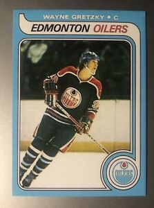 WAYNE GRETZKY 1979 1980 O-Pee-Chee OPC RC ROOKIE REPLICA WITH DOT ICONIC CARD!