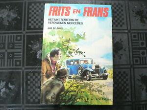 COVER CAR : FRITS EN FRANS HET MYSTERIE VAN DE VERDWENEN MERCEDES JAN DE BRUIN