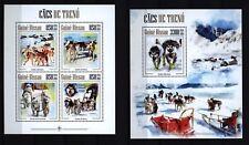 Guinea Bissau 2013-slitta Cani-Sled Dogs-RARE D 'attelage-Husky MNH